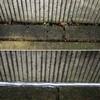敷地基礎とU型側溝の隙間塞ぎ