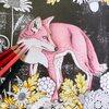 「花と動物を彩るコラージュぬりえ 森のなかへ」サンプルページの彩色を担当しました④ 毛並みの模様がある動物の塗り方