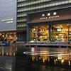 ★雨の大阪駅