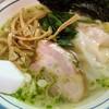 魂麺@本八幡 塩魂麺+海老ワンタン