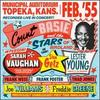 Municipal Auditorium Topeka Kansas February 55 /Count Basie