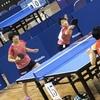 ひかる選手・みさき選手(白子高校)女子ダブルス、しっかり勝利してラン決へ! 卓球、インターハイ、鹿児島
