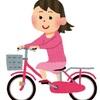 久しぶりに自転車に乗った
