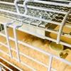 シャトルケージに暖突を設置