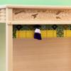 中型サイズ用神棚ケースに御簾を取り付けたときの参考例