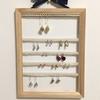 《DIY》100均材料で壁掛けピアスホルダー