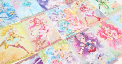 12月7日発売の新シリーズ!「プリキュア カードウエハース」商品紹介