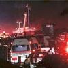 中央道で土砂崩れ事故、11人搬送し6人重軽傷
