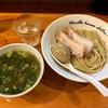 【今週のラーメン3386】 麺庵ちとせ (東京・曙橋) 塩つけ麺 + 煮玉子 + 豚バラ煮豚 + プレミアムエビス中瓶