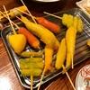 【当店食べログ初口コミ】富士吉田市下吉田の「串揚げダイニング Lit」で串揚げなど