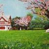 「北海道知事公館」の春