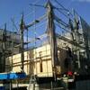 棟上げ終わりました。