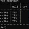 Xamppで入れたMySQLでinsert文とselect文を学んだ