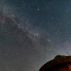 昨夜もけっこう流れていました@ペルセウス座流星群