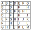 Topcoder MM108 CrosswordPuzzler