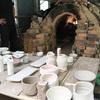 こつも焼窯元で創った茶碗。