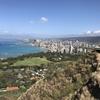 子供と気楽にハワイ旅行⑦『ダイヤモンドヘッド登山』全ては頂上からの絶景を見るために