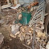 薪割り小屋を片付ける 掃除して Putting away the wood-splitting cottage