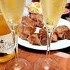 美味しいラム肉とスパークリングワイン、その代償。