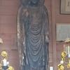 笠間の弥勒仏立像(茨城県笠間の六体仏の一つ)