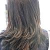 髪の中の密度は減少する