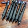 安心の書き心地の「エナージェル」が、選べる6色のブラックインキを数量限定発売です