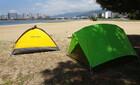 2021/06/14 Mon. テントを干す。