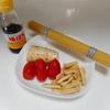 10分和風パスタと今日のおうちごはんは焼き鮭