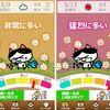 本日のおススメアプリ【花粉メーター】