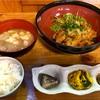 🚩外食日記(486)    宮崎ランチ   「和ぼうず」②より、【鶏天ネギおろしポン酢定食】‼️