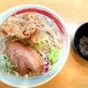 藤ろう@埼玉県加須市の『小ラーメン』が唐揚げ二郎美味い