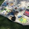 ライブペインティングに必要なオススメ画材や道具(ゴールドコーストの画材屋さん情報も)