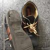 履き古しの靴を 断捨離する
