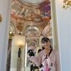 ルーブル美術館♪ミラーで囲まれた円形ルーム〜☆*:.。. o(≧▽≦)o .。.:*☆ハネムーン旅行記♪