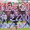 【宝塚記念 2020】過去10年データと予想