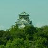 【写真複製・写真修復の専門店】大阪城 色調修正