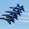 """【海外エアショー】アメリカ海軍アクロバットチーム『ブルーエンジェルス』... ミネソタ州ダルースにて/US Navy """"Blue Angels"""""""