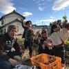 芋掘り三世代家族、楽しかった。