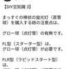 【DIY豆知識 3】直管蛍光灯の種類について