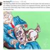 コメディ★ジム・キャリー、反(反)トランプ漫画家に変身