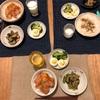 漬け丼、ゆで卵とブロッコリー、なすとゴーヤのツナ味噌炒め煮