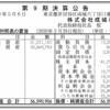 株式会社成城石井 第9期決算公告