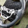 自動車内装修理#308 トヨタ/ラクティス 合皮レザーハンドル/ステアリング 劣化・擦れ・表皮剥がれ補修