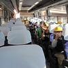 3年生:校外学習① 日本製鉄工場見学