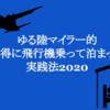 ゆる陸マイラー的お得に飛行機乗って泊まって実践法2020