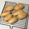 米粉パン、水餃子と玉子焼きと卵スープ