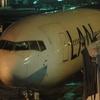 【OWRTW世界一周】その14・「LA531 JFK-(LIM)-SCL B767-300ER  BusinessClass 5H」前半・ペルーはリマへ一時着陸