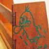 【0円インテリア】古道具の本立てとリンゴ箱の「本棚」