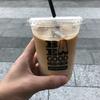 ビー ア グッド ネイバー コーヒー キオスク スカイツリーでカフェラテ(スカイツリー・押上)