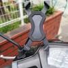 アドレスV100 快適化 スクーターでも付けれる「Joyoldelf バイク スマホホルダー」設置